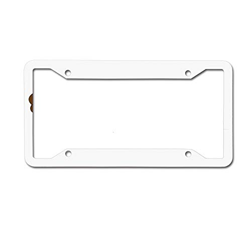 (keyishangmaoLu Traditional Cornucopia with Pumpkins and Corns Feast Harvest Festive Image License Plate Frame Aluminum License Plate Frame Car Tag Cover 4 Holes and Screws)