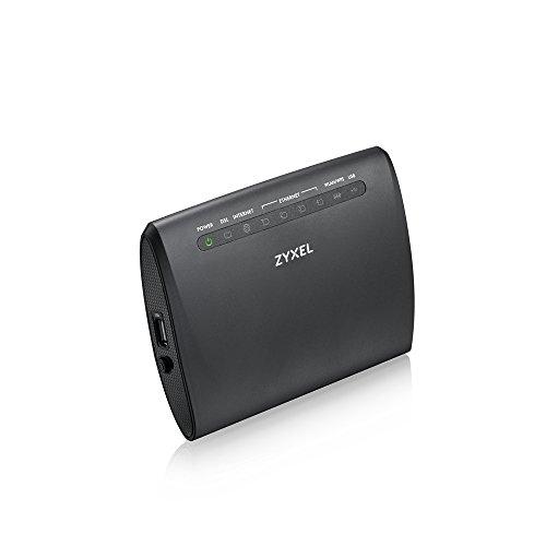 Zyxel Wireless N300 VDSL2 4-port Gateway with USB - Annex A / POTS...
