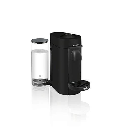 Nespresso ENV150BM VertuoPlus Coffee and Espresso Machine by De'Longhi, Black Matte (Renewed)