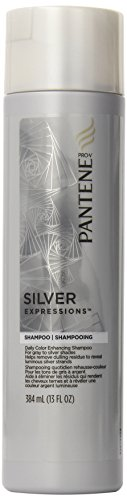 Pantene Silver Expressions Daily Color Enhancing Shampoo 13 Fl Oz (Pack of 2) by Pantene