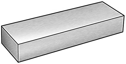 6 Ft Aluminum 6061,1//8 x 6 In Bar Stock 2ARH1