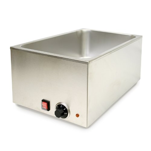 ThunderGroup SEJ80000C Stainless Steel Countertop Electric Food Warmer by Thunder Group