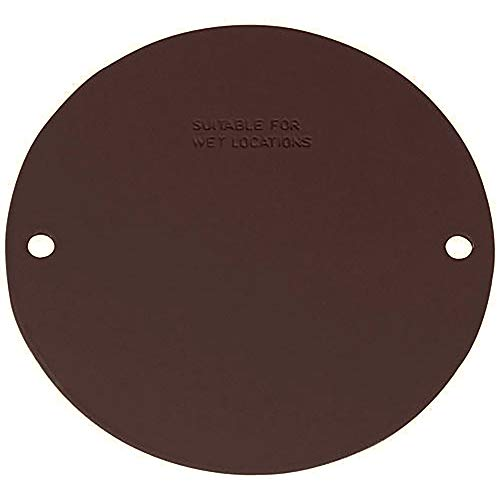 Sigma Electric, Bronze 14241BR Round Blank Stamped Cover