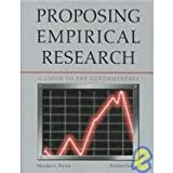 Proposing Empirical Research: A Guide to the Fundamentals, Mildred L. Patten, 1884585892