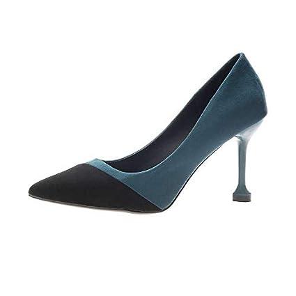 ed88f368a9 BMYJ Nuevos Zapatos de Boda con Punta de Dedo para Mujer Zapatos de Boda de  Mujer