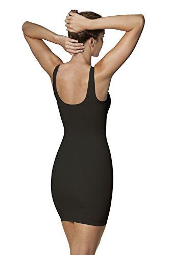 Sleex Combinación moldeadora con tirantes anchos Negro (Black)