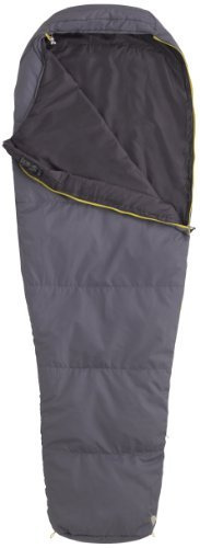 55 Synthetic Sleeping Bag, Regular-Left, Grey by Sleeping Bag