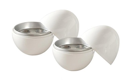 Nordic Ware Microwave Egg Boiler (2, White) by Nordic Ware