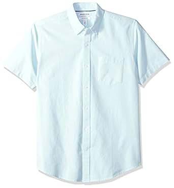 33d621e7 Amazon.com: Amazon Essentials Men's Regular-Fit Short-Sleeve Pocket ...
