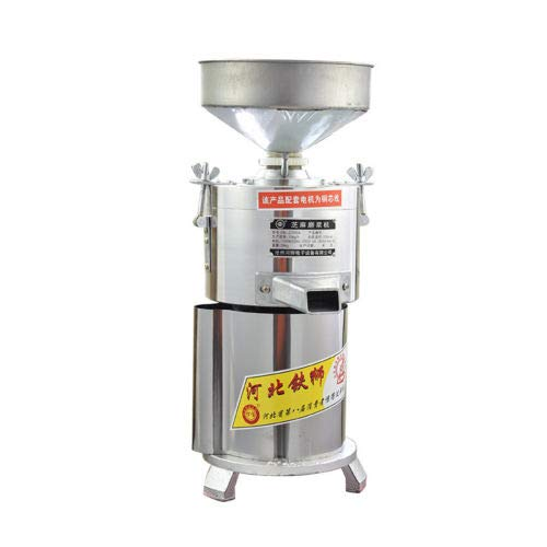 JIAN YA NA 220V Peanut Butter Maker Machine Commercial Peanut Butter Maker Sesame Butter Mill Grinding Machine 15kg/h 1100W