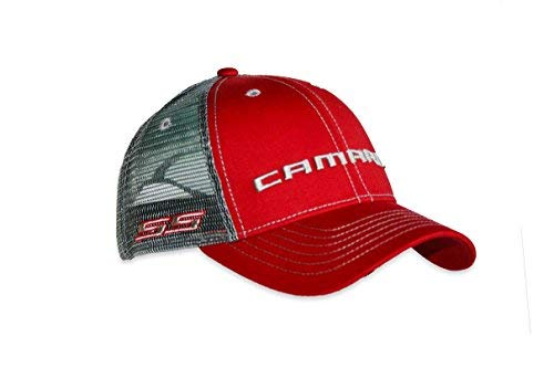 Chevy Camaro SS Red Mesh Hat