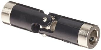 "Boston Gear JP623/8 Universal Joint, Single, Molded, 0.375"" Bore, 0.860"" Bore Depth, 2.641"" Length, 0.625"" Outside Diameter, 60 ft/lbs Max Torque, Delrin"
