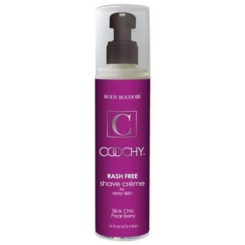 Body Boudoir Coochy Rash Free Shave Cream 16 Oz Pump Bottle Pear Berry