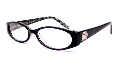 Foster Grant Fashion Reading Glasses +1.25 Ava (Silver Medallion Hinges)