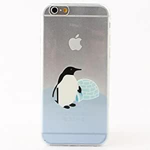 SHOUJIKE Penguin Home Style TPU Soft Case for iPhone 6