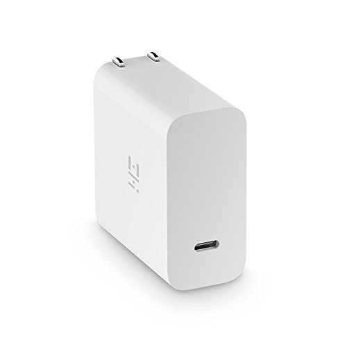 ZMI PowerPlug Turbo 45W Wall Charger USB-C PD Power Adapter, Laptop Charger for new MacBook/Pixelbook, Fast Charging iPhone 8/8 Plus/X, Samsung S8/S8+, Pixel/Pixel 2, Nintendo Switch, GoPro HERO5 / 6