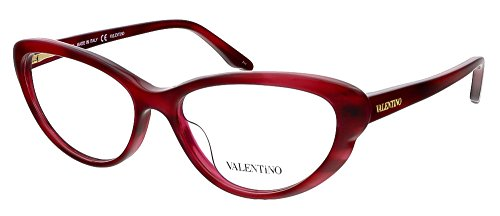 Valentino V2635 618 Red Cat Eye Valentino Eyewear (Valentino Optical Frames)