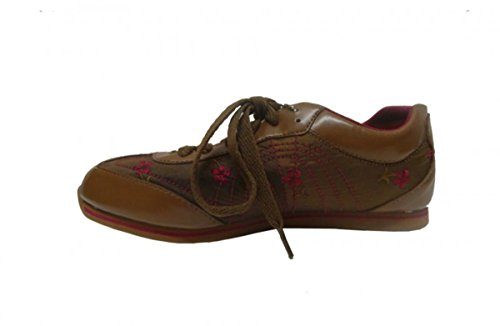 Etnies Skateboard Shoes LO-Qwan-Do Plus Brown/Bordo Flowers