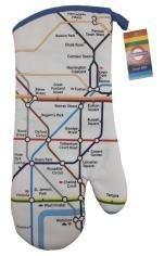 London Underground Transport for London Tube Map Oven Mitt Glove