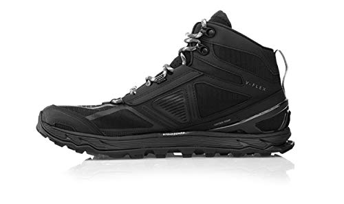 Altra Women's Lone Peak 4 Mid Mesh Trail Running Shoe, Black - 7.5 B(M) US by Altra (Image #2)