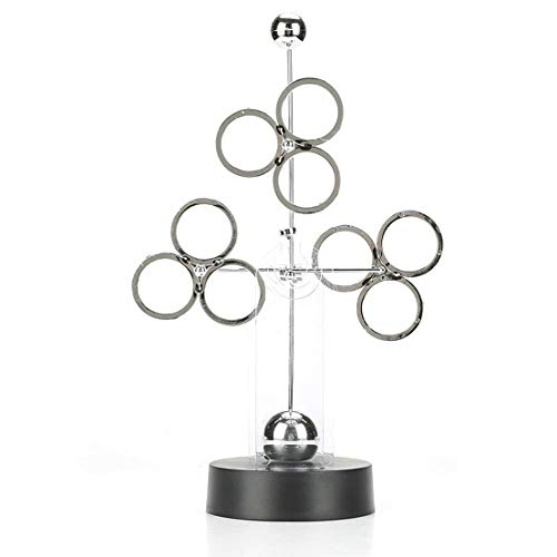 Sculpture Motion - JxyzyxJ Office Home Decor Perpetual Motion Device Stress Relief Desk Toy Kinetic Sculpture for Student Teacher Adult Husband