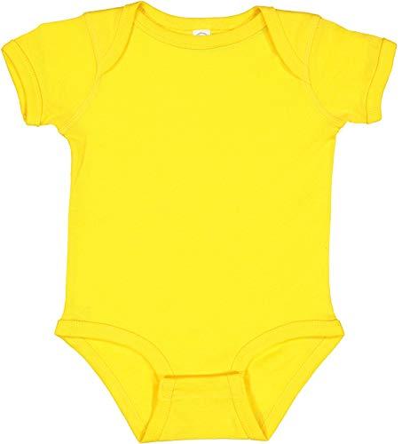 Charlie Brown Costume Baby - Rabbit Skins Infants'5 oz. Baby Rib