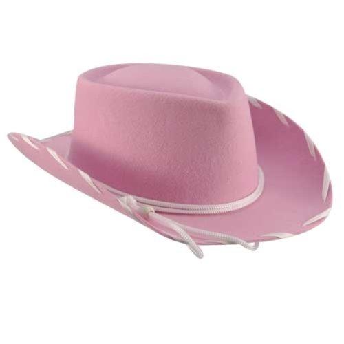 Eddy Bros. Kid Woody Cowboy Hat Pink S