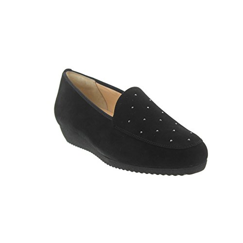 Hassia Women's 301452-0100 Loafer Flats Black B0QlCyV