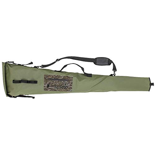 Frogg Toggs FTX Gear Polyester PVC Floating Gun Case, Green/Mossy Oak Bottomland