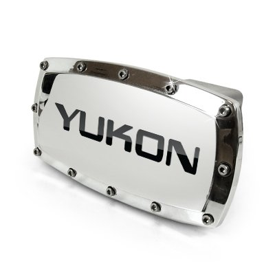 General Motors GMC Yukon Chrome Billet Aluminum Tow Hitch Cover