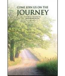 (Welcome Folder-Join Us On The Journey/Road)