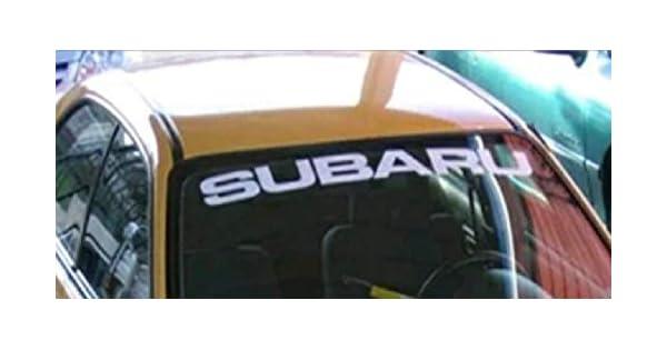 Amazon.com: Gy Vinyl Arts Subaru parabrisas, carteles ...