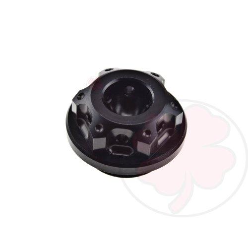Kawasaki Race Style Oil Cap - Black - Ninja 250 500, 636, ZX6R, ZX6RR, ZX7R, ...