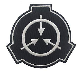 Scp Foundation Special Containment Procedures Foundation Logo Military Hook Loop Tactics Morale Embroidered Patch Color1