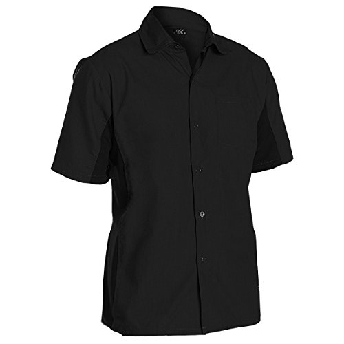 (Chef Code Utility Work Shirt Button Front Vent Side Panels (XL,)
