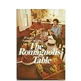 The Romagnolis' Table, Margaret Romagnoli and G. Franco Romagnoli, 0316755621