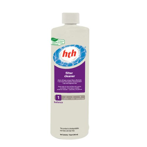 Arch Chemical 66521 HTH Filter Cleaner, One-Quart