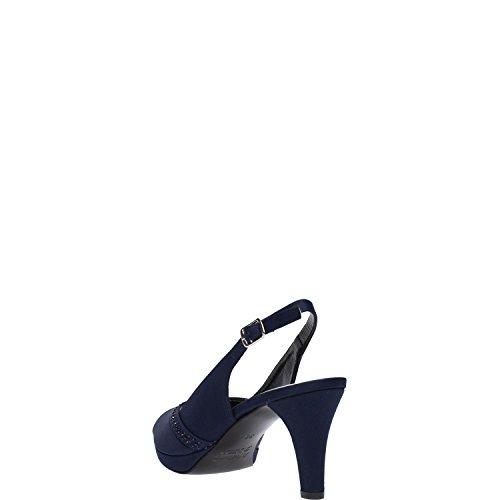 MELLUSO - Zapatos de vestir para mujer Negro negro Blu scuro
