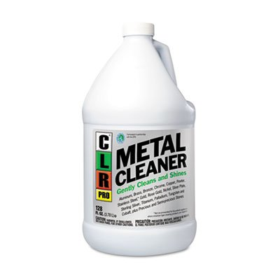 CLR PRO Metal Cleaner, 128 oz Bottle, 4 per Carton by Jelmar