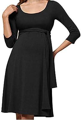 BABIFIS Ropa de Maternidad Ropa de Verano Ropa de Embarazo Ropa de algodón Vestido Casual de Embarazo Vestido de Lactancia Materna para Mujeres Embarazadas: Amazon.es: Hogar