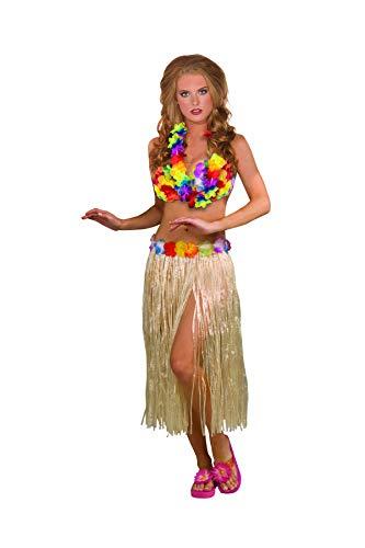 Forum Novelties Hawaiian Hula Girl Dancer 3-Piece Costume -
