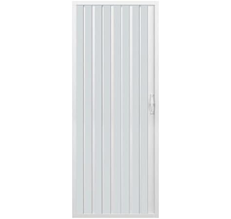 Rollplast BVEN2LONCC28120 Mampara de ducha con fuelle, tamaño H 120 cm x 185 cm, PVC, por un lado, única puerta, con apertura lateral, color blanco: Amazon.es: Bricolaje y herramientas