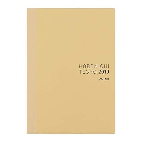 Hobonichi Techo Cousin Book (Japanese/A5/Jan 2019 Start/Mon Start)