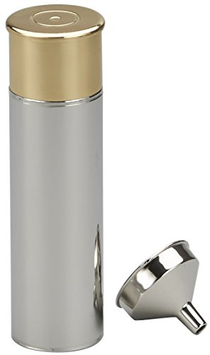 M. CORNELL IMPORTERS 5514 Stainless Steel Shotgun Shell Flask by M. CORNELL IMPORTERS