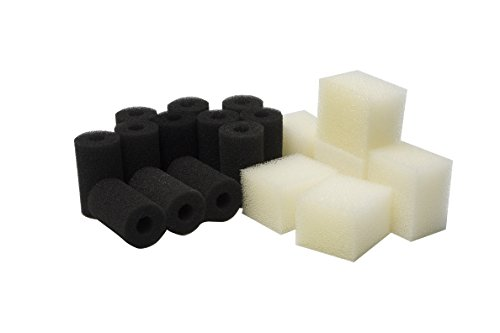 LTWHOME Pre-Filter Sponges and Compatible Foam Filter Pads Suitable for Fluval Edge Aquarium