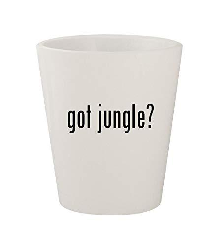 got jungle? - Ceramic White 1.5oz Shot Glass