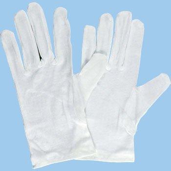 品質管理用作業手袋 綿スムス マチナシ M