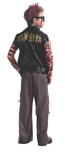 Boy's Zombie Punk Rocker #1 Costume, -