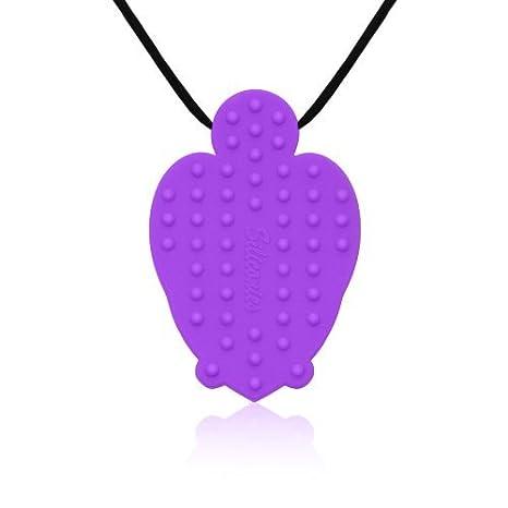 Siliconies Turtle Pendant Yel... Family Bedrock FB1001 Silicone Necklace Teething//Nursing//Sensory