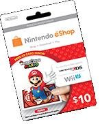 Photos with Mario AR Card - Mario Version (Includes $10 for Nintendo eShop) from Nintendo of America